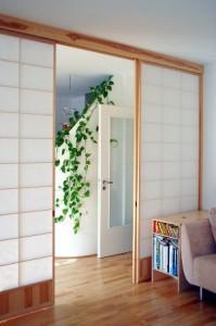 Shoji-Trennwand aus Kiefer